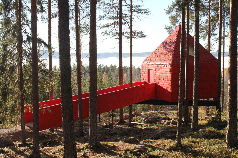 Zweeds-lapland-treehotel-lulea travel
