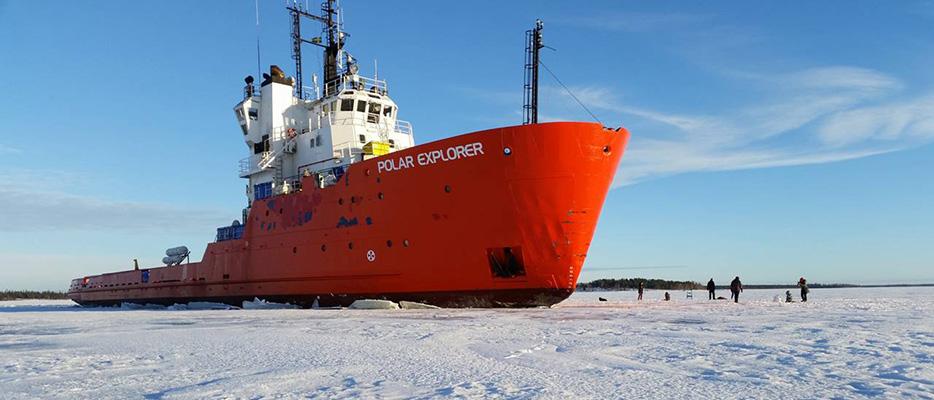 Icebreaker Tours Activities Lule 229 Swedish Lapland