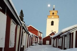 Zweeds Lapland Gammelstad