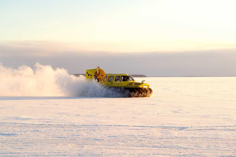 hovercraft tour lulea