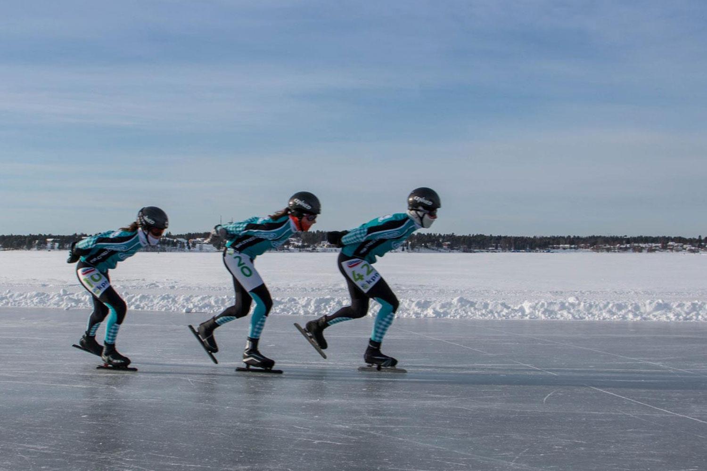 Schaatsen in Zweden