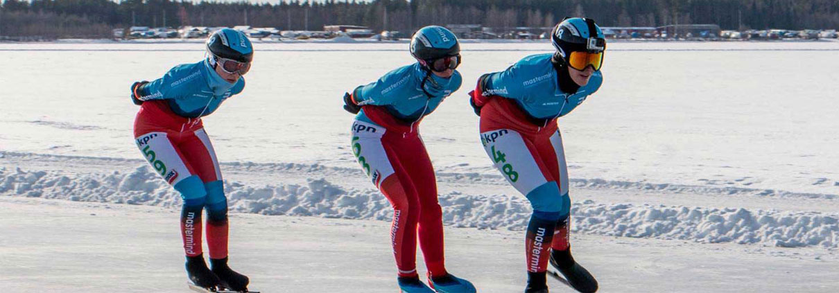 Schaatsen Luleå - Kpn Grandprix