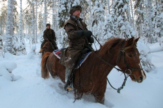 Horse Riding Winter Tours
