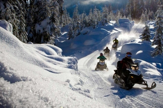 snowmobile tours lulea