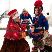 sami sweden holiday winter