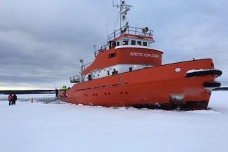 Ijsbreker tour Zweeds Lapland