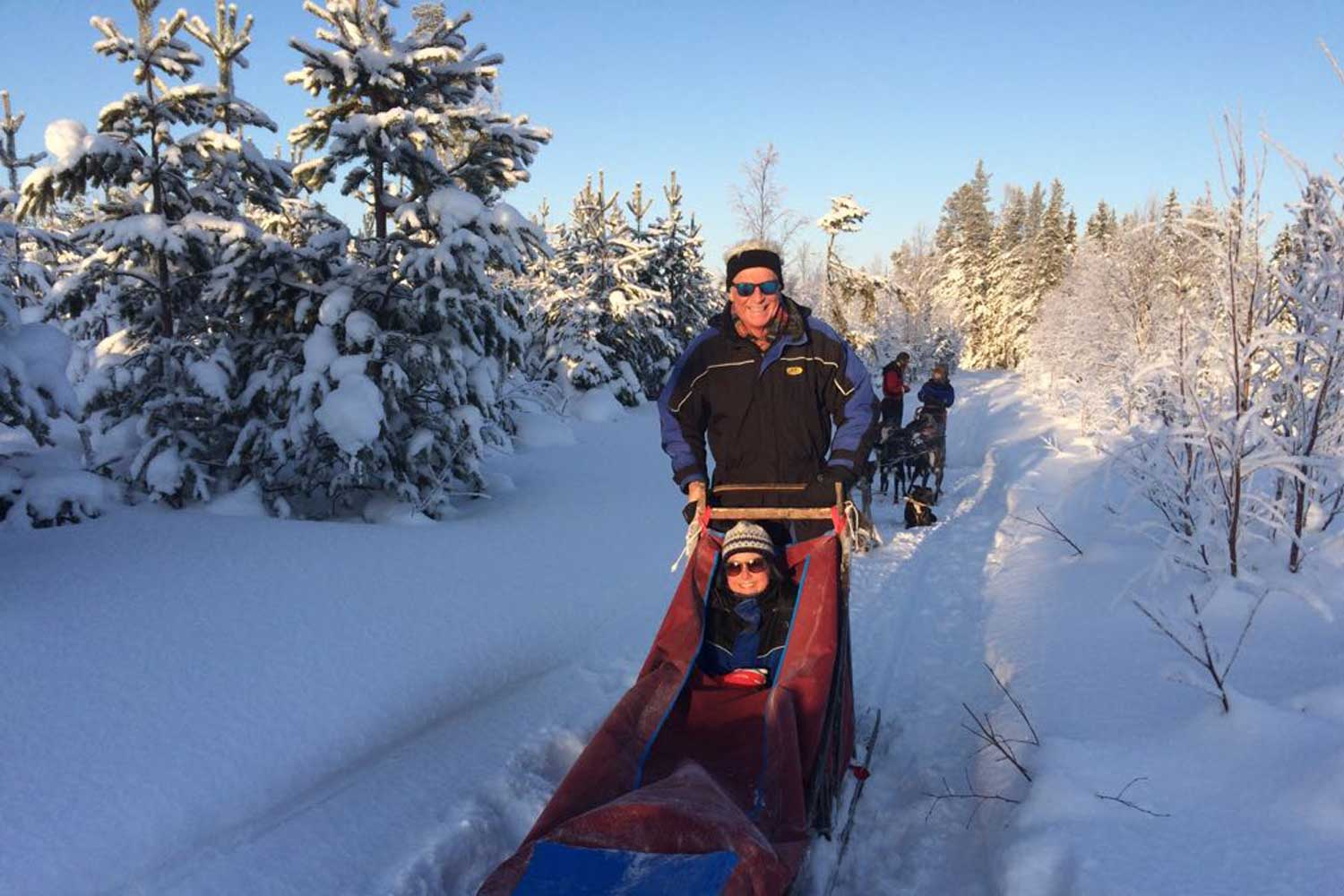 dogsled tours lulea