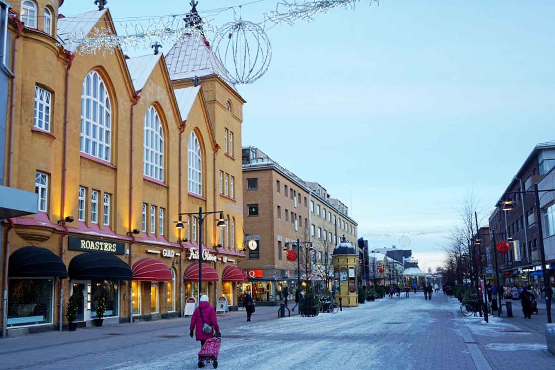 Lulea-city-center
