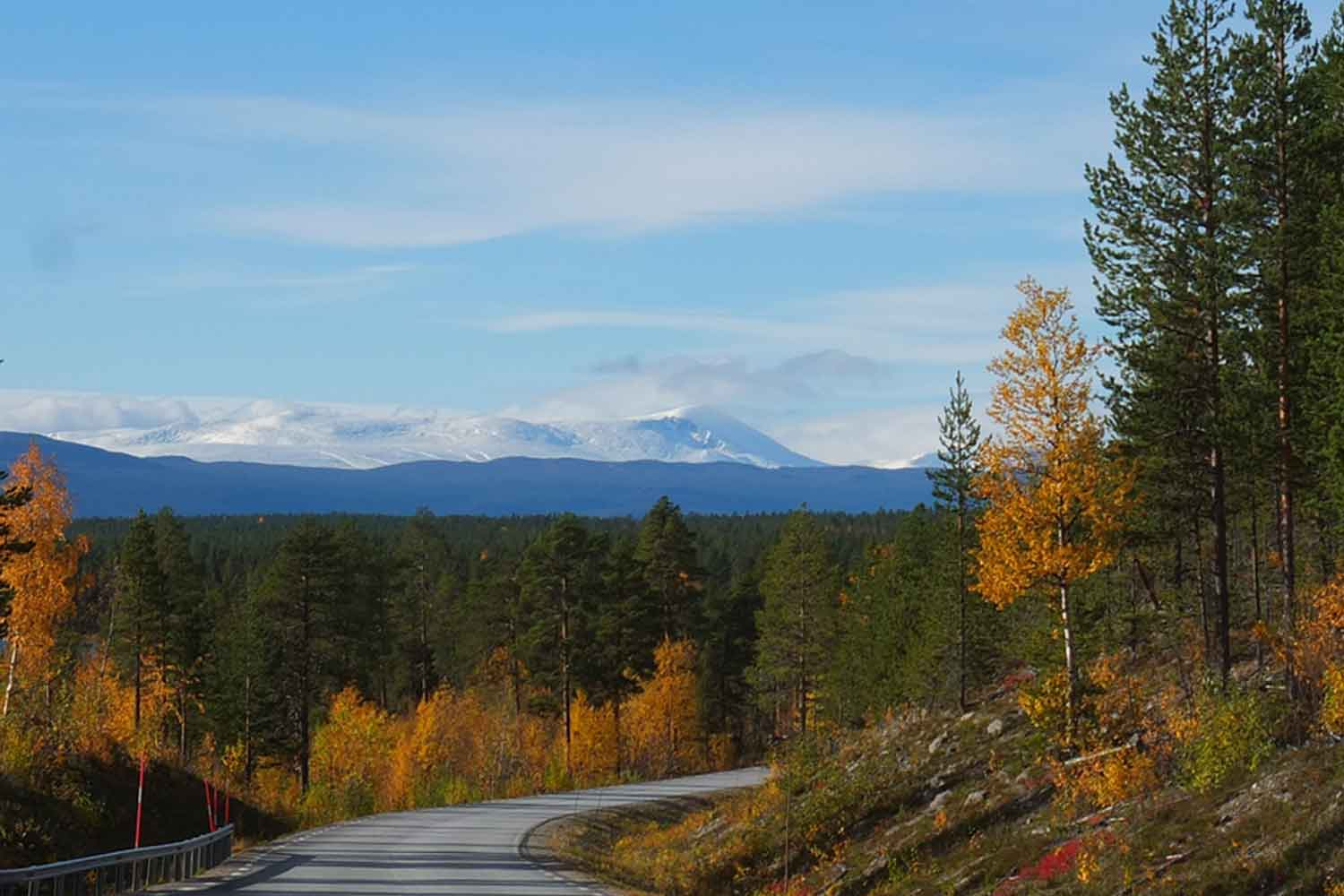 Fly drive Swedish Lapland
