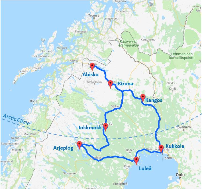 self drive sweden