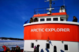 ijsbreker cruise lapland