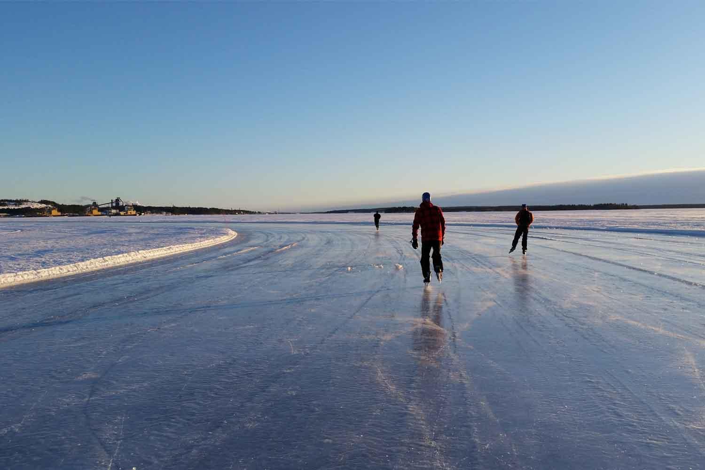 Ice-track-lulea