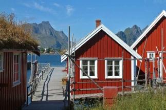 Fishermen cabin Lofoten