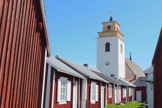 UNESCO World Heritage site Gammelstad