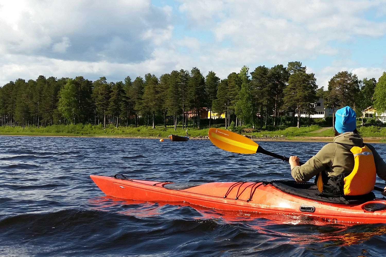 kayak tours lulea
