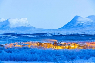 winter holidays Swedish Lapland