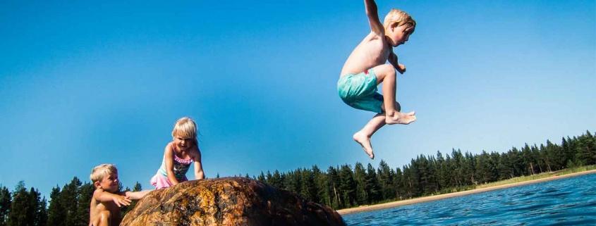 zomer vakantie zweden